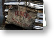 Desert Rat Photo Greeting Cards - Desert Water Bag Greeting Card by David Lee Thompson