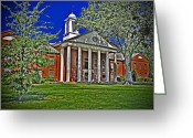 Mississippi County Greeting Cards - Desoto County Courthouse Greeting Card by Barry Jones