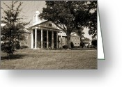 Mississippi County Greeting Cards - Desoto Courthouse on Market Day Greeting Card by Barry Jones
