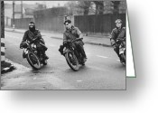 18-19 Years Greeting Cards - Despatch Riders Greeting Card by A R Tanner