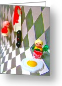 Fisher Price Little People Greeting Cards - Desperate Housewife Greeting Card by Ricky Sencion