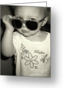 Superstar Photo Greeting Cards - Destined for Stardom Greeting Card by Desiree Paquette