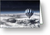 Freedom Digital Art Greeting Cards - Destiny Greeting Card by Photodream Art