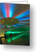 Tunnels Greeting Cards - Detroit Travelers I Greeting Card by Elizabeth Hoskinson