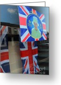 England Diana Greeting Cards - Diamond Jubilee 1952-2012 Greeting Card by Rene Triay Photography