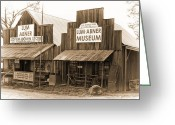 Dick Greeting Cards - Dick Huddleston Store Est. 1909 Greeting Card by Douglas Barnard