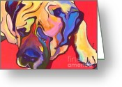 Pat Greeting Cards - Diesel   Greeting Card by Pat Saunders-White