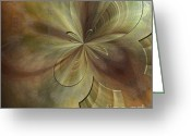 Illusion Illusions Greeting Cards - Digital Painting Greeting Card by Kristin Kreet