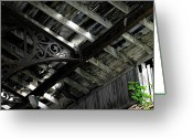 Abandoned Train Greeting Cards - Dilapidation Greeting Card by Scott Hovind