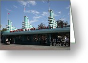 Disney California Adventure Park Greeting Cards - Disney California Adventure - Anaheim California - 5D17521 Greeting Card by Wingsdomain Art and Photography