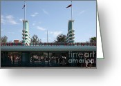 Disney California Adventure Park Greeting Cards - Disney California Adventure - Anaheim California - 5D17522 Greeting Card by Wingsdomain Art and Photography