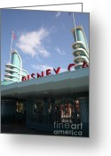 Disney California Adventure Park Greeting Cards - Disney California Adventure - Anaheim California - 5D17527 Greeting Card by Wingsdomain Art and Photography