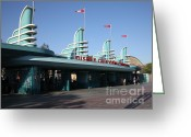 Disney California Adventure Park Greeting Cards - Disney California Adventure - Anaheim California - 5D17537 Greeting Card by Wingsdomain Art and Photography