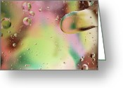 Soft Pastels Greeting Cards - Dispersal Greeting Card by Michael Peychich