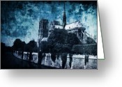 Paris Greeting Cards - Dissipating Rapture Greeting Card by Andrew Paranavitana