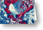 Enhanced Greeting Cards - Dissolving  Greeting Card by Amy  Jackson
