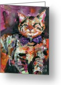 Ginette Fine Art Llc Ginette Callaway Greeting Cards - Diva  Greeting Card by Ginette Fine Art LLC Ginette Callaway