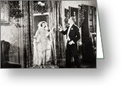 Tuxedo Greeting Cards - Divorce Coupons, 1922 Greeting Card by Granger
