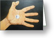 Hyper-realism Painting Greeting Cards - Do Not See Its Value Greeting Card by Handoko Aji