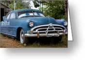 Dilapidated Greeting Cards - Doc Hudson Greeting Card by Kristin Elmquist