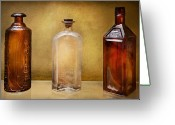 Nurse Greeting Cards - Doctor - Bitters  Greeting Card by Mike Savad