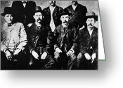 Commission Photo Greeting Cards - Dodge City Commission Greeting Card by Granger