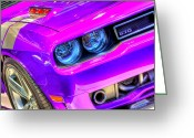 Auto Show Greeting Cards - Dodge Greeting Card by Joshua Ball