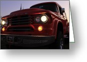 Four-wheel Greeting Cards - Dodge Power Wagon 4x4 Greeting Card by Scott Hovind