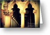 Landmarks Of Usa Greeting Cards - Doges Palace of Venice in Las Vegas Greeting Card by Susanne Van Hulst