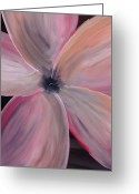 Silver Moonlight Greeting Cards - Dogwood Bloom Greeting Card by Mark Moore
