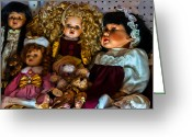 Christopher Holmes Greeting Cards - Dolls Greeting Card by Christopher Holmes
