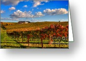 Puffy Greeting Cards - Domain Carneros 1 Greeting Card by Mars Lasar