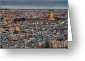 St Louis Greeting Cards - Dome Des Invalides Greeting Card by Romain Villa Photographe