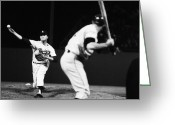 Throw Photo Greeting Cards - Don Drysdale (1936-1993) Greeting Card by Granger