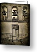 Church Greeting Cards - Door Bells Greeting Card by Evelina Kremsdorf