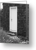 Nauset Beach Greeting Cards - Doorway by the Sea Cape Cod National Seashore Greeting Card by Michelle Wiarda
