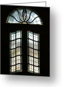 West Baden Greeting Cards - Doorway Greeting Card by Sandy Keeton