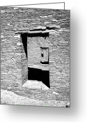 Rock Walls Greeting Cards - Doorways to the Past 2 Greeting Card by Art Berggreen