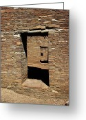 Rock Walls Greeting Cards - Doorways to the Past Greeting Card by Art Berggreen