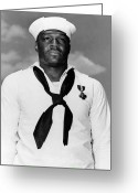 Second Photo Greeting Cards - Dorie Miller Greeting Card by War Is Hell Store