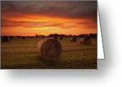 Galloway Greeting Cards - Dornock Sunrise Greeting Card by Brian Kerr Photography