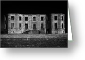Northern Ireland Greeting Cards - Downhill Demesne Castle Ireland Greeting Card by Joe Fox