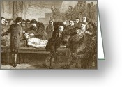Mary Shelley Greeting Cards - Dr. Andrew Ure(1778-1857) Greeting Card by Sheila Terry