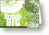 Rehabilitate Greeting Cards - Dream Big Greeting Card by Lj Lambert