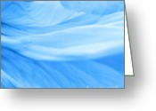 Flower Picture Greeting Cards - Dream blue Greeting Card by Angela Doelling AD DESIGN Photo and PhotoArt