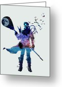 Sea Digital Art Greeting Cards - Dream Fisherman Greeting Card by Christopher Ables
