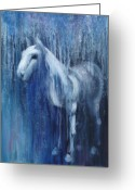 Horse Greeting Cards - Dream Horse Greeting Card by Katherine Howard