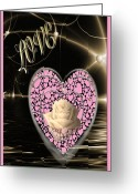 True Feelings Greeting Cards - Dream Of Love Greeting Card by Debra     Vatalaro