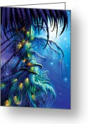 Magical Greeting Cards - Dreaming Tree Greeting Card by Philip Straub