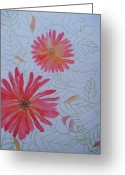 Aster  Painting Greeting Cards - Dreams Greeting Card by Sharmila L